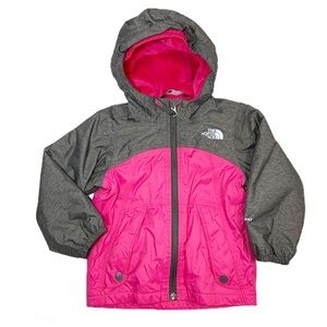 The North Face Fleece Lined Coat Girls Sz 2T
